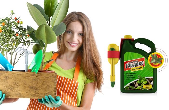 Биогербицид Гардекс защита от сорняков в Кусе